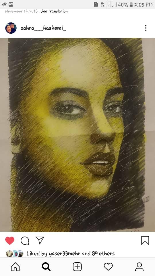 Get inspired by Zahra Hashemi's amazing artwork 26