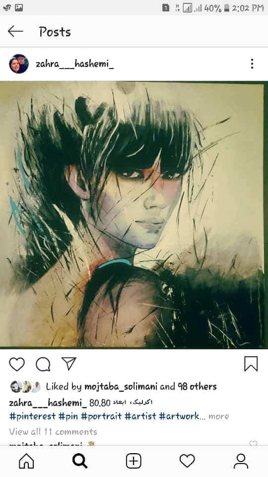 Get inspired by Zahra Hashemi's amazing artwork 18