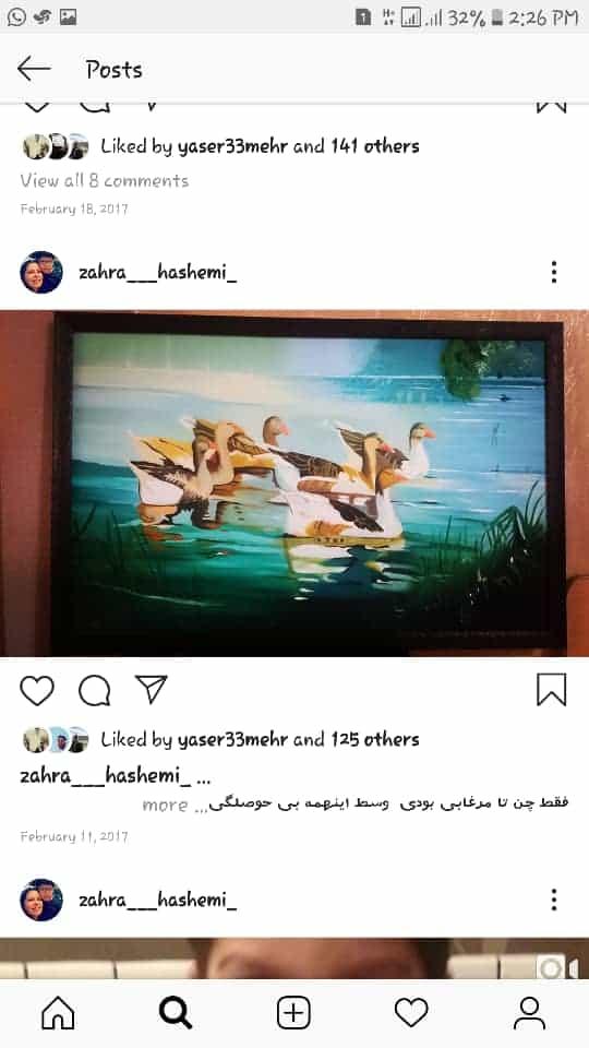 Get inspired by Zahra Hashemi's amazing artwork 11