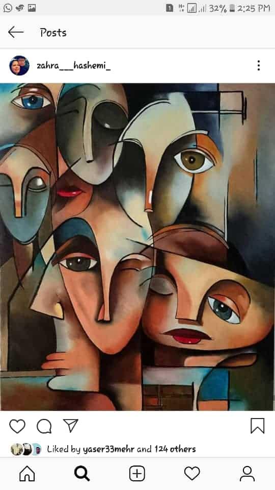 Get inspired by Zahra Hashemi's amazing artwork 9