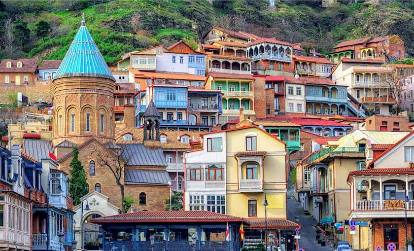 Colorful Old Tbilisi