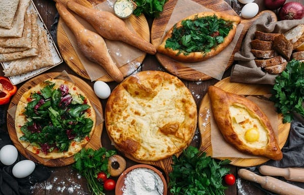 Georgian Supra, Georgian food traditions