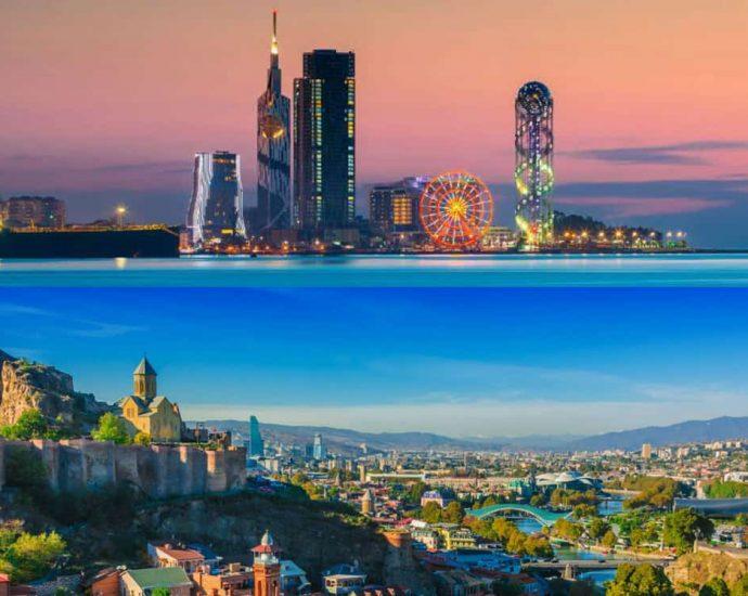 Georgia amusement and entertainment cities
