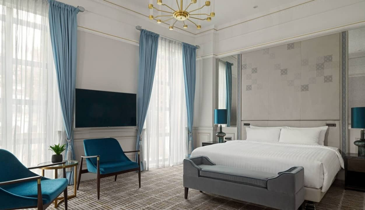 Presidential Suite - Bedroom, Marriott Tbilisi