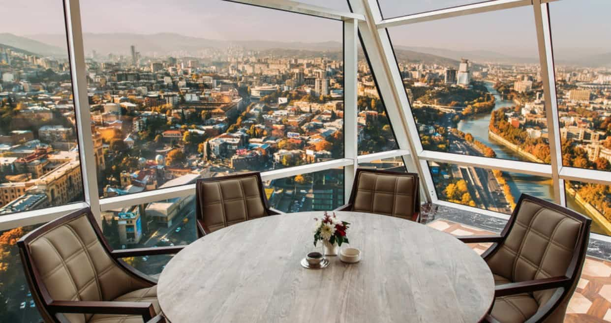 The Biltmore Tbilisi panorama views