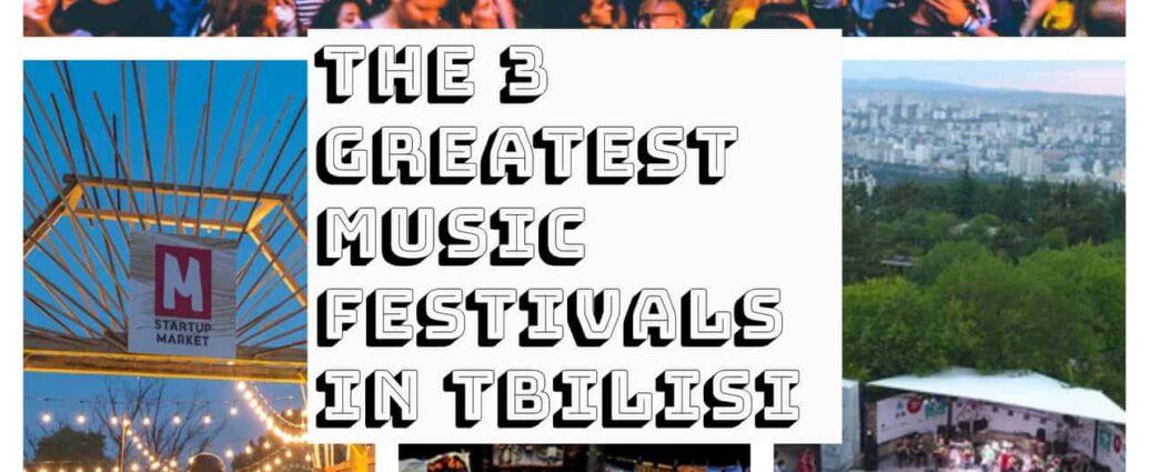 Music Festivals in Tbilisi