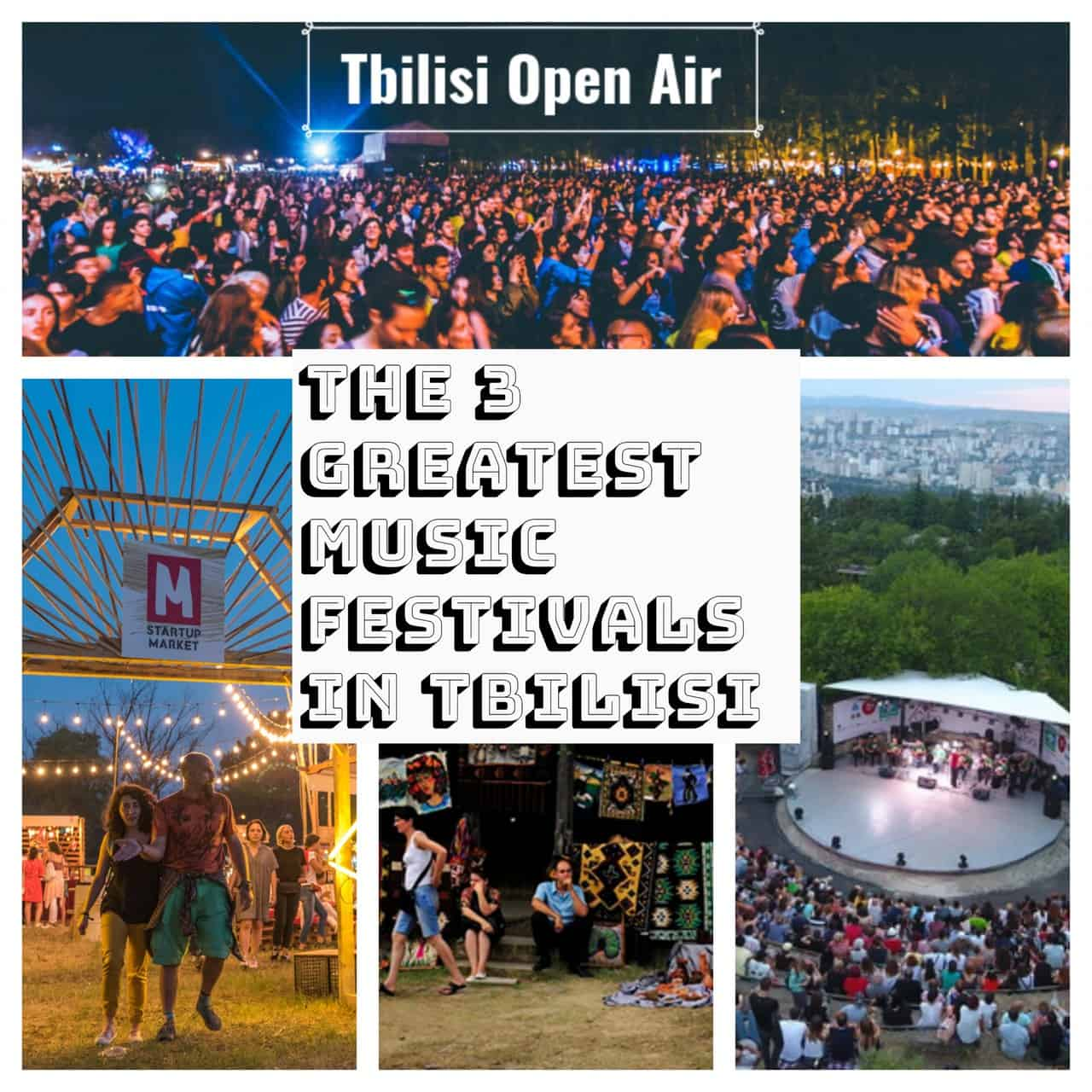 The 3 Greatest Music Festivals In Tbilisi