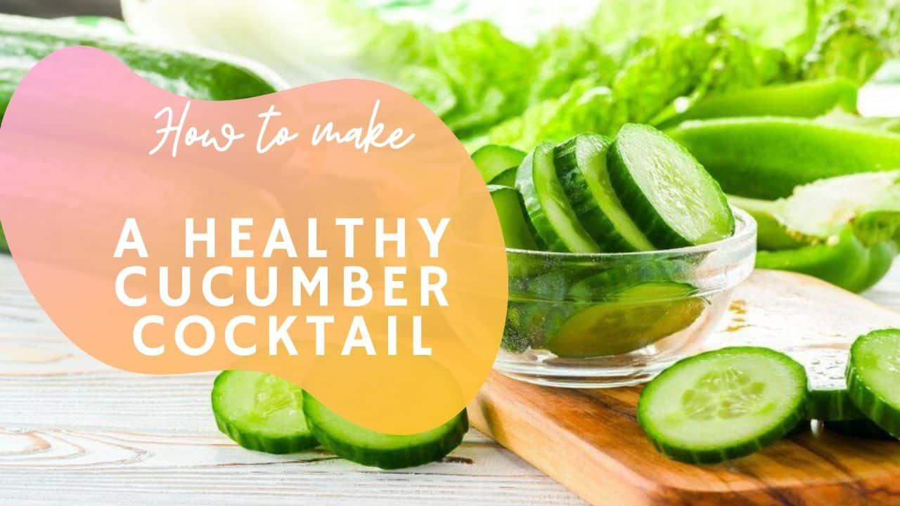 cucumber summer drink recipe