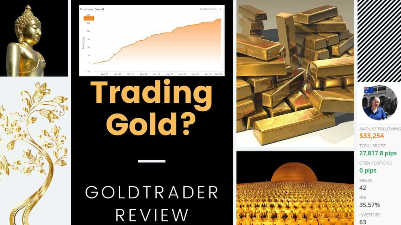 Copy gold signals and make money easily – Gold trader review
