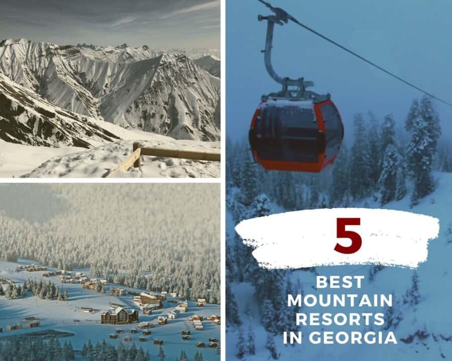 mountain resorts, ski resorts in georgia