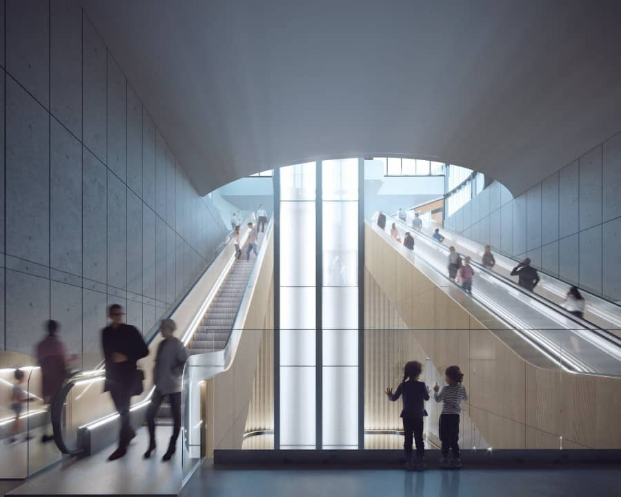 This will be the Very First Light Rail Underground station in Norway 3