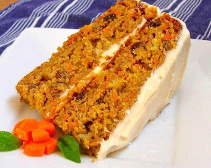 gourmet carrot cake recipe