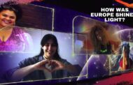 This was Eurovision Europe Shine A Light