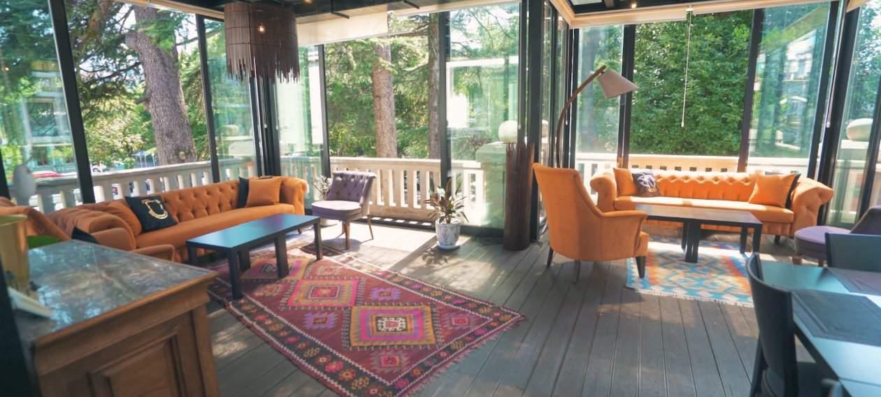 Cozy surroundings and elegant interior design at Cafe Museum Batumi