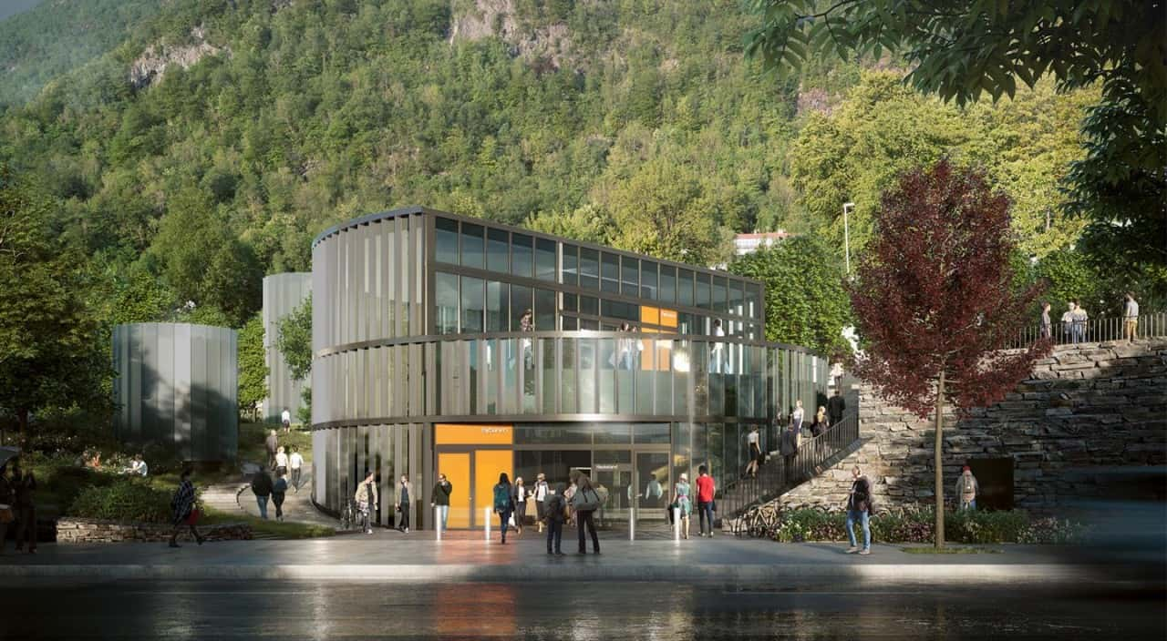 This will be the Very First Light Rail Underground station in Norway 1