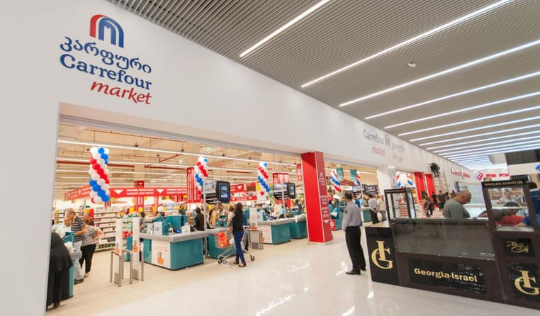 Carrefour, Best Supermarkets In Tbilisi