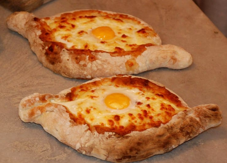Batumi's food is delicious