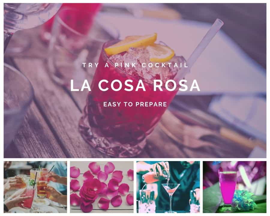 la cosa rosa pink cocktail recipe