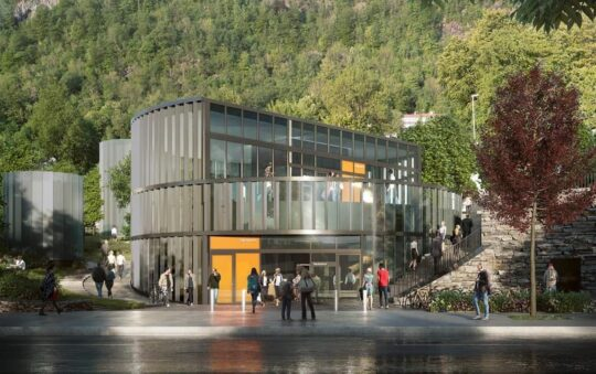 This will be the Very First Light Rail Underground station in Norway