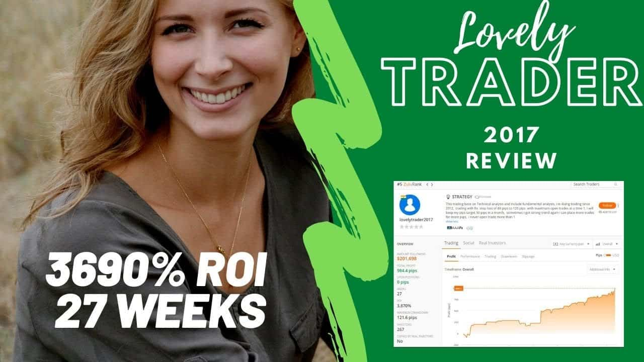 Lovely Trader2017 review – 3690% ROI on Zulutrade