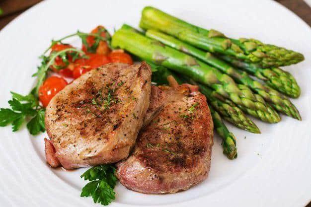 Beef steak with vegetables recipe