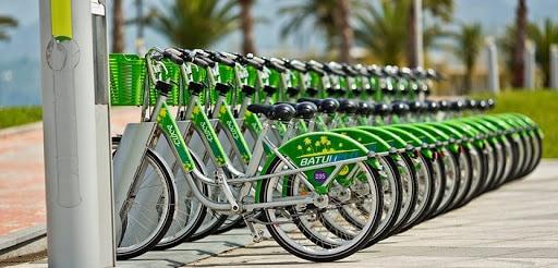 city bike in batumi