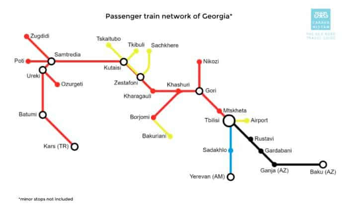 5 Helpful Tips On How To Travel By Train In Georgia 2
