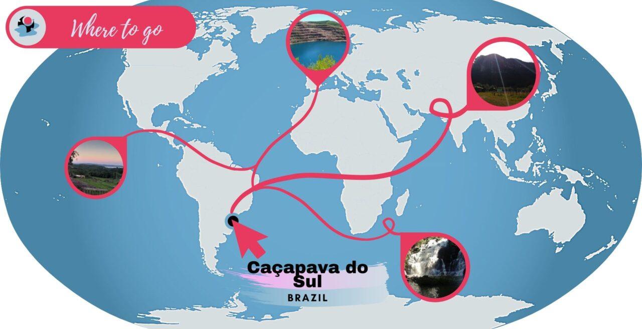 Caçapava do Sul map