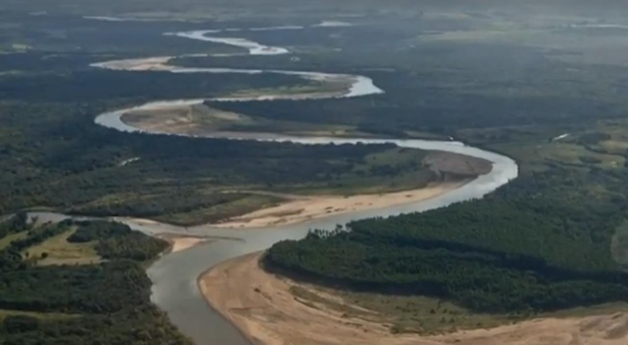 Camaquã river is located in Caçapava do Sul