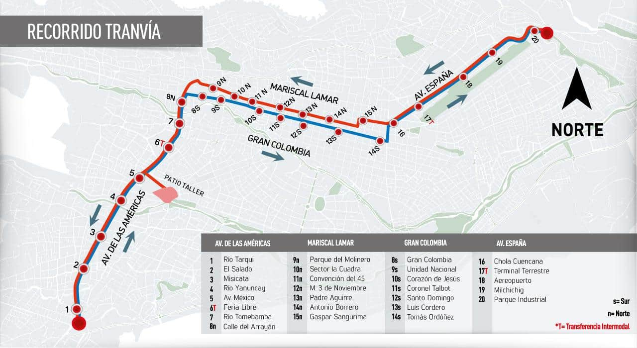 The Cuenca Tramway in Ecuador Opened 3