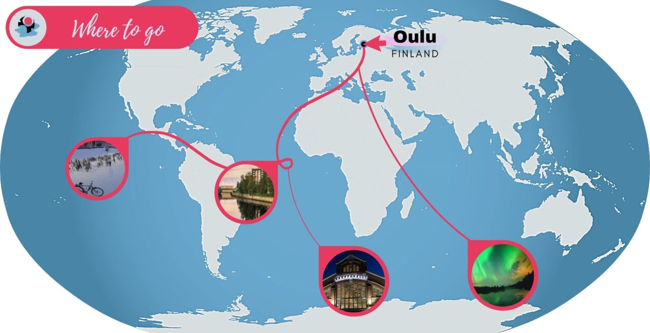 Oulu, where to go in Finland?