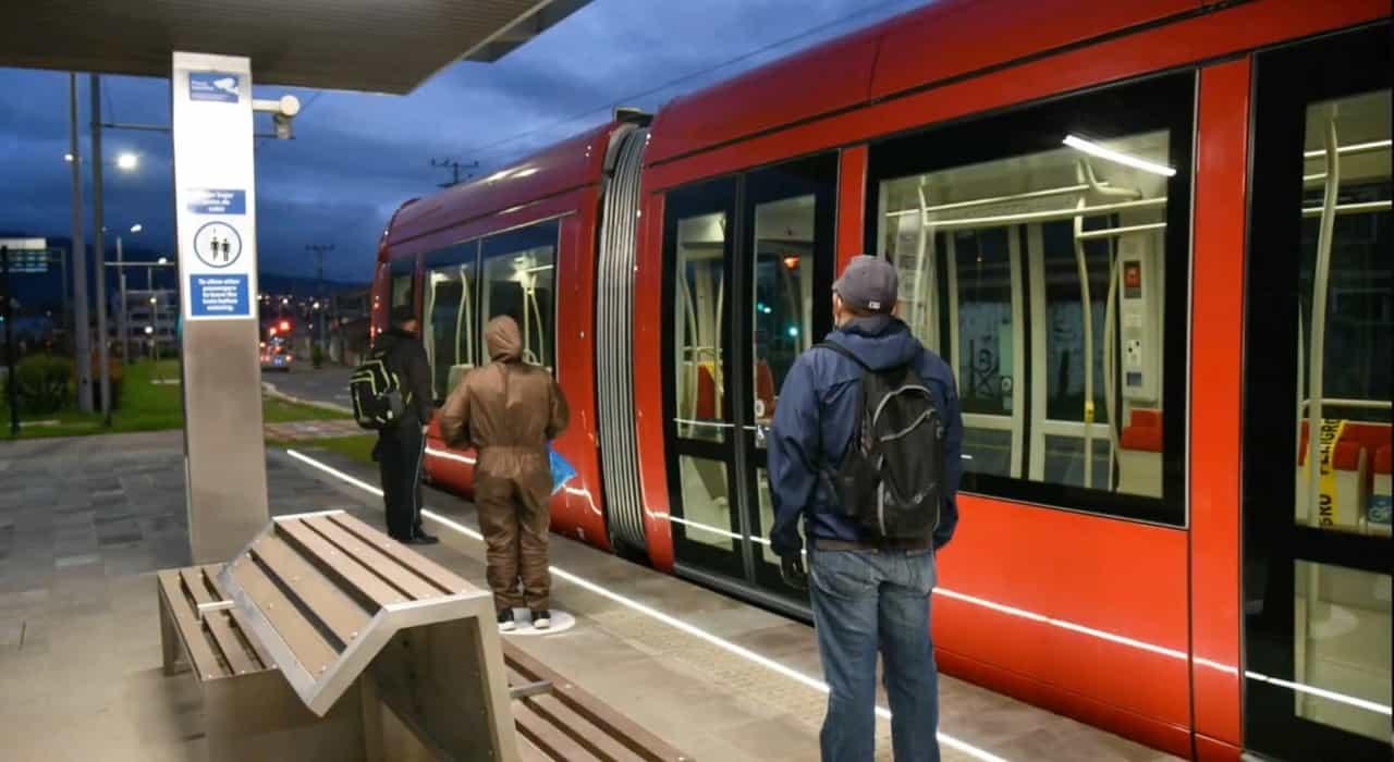 The Cuenca Tramway in Ecuador Opened 1