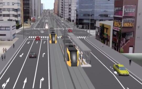 Utsunomiya Light Rail in Japan by 2022
