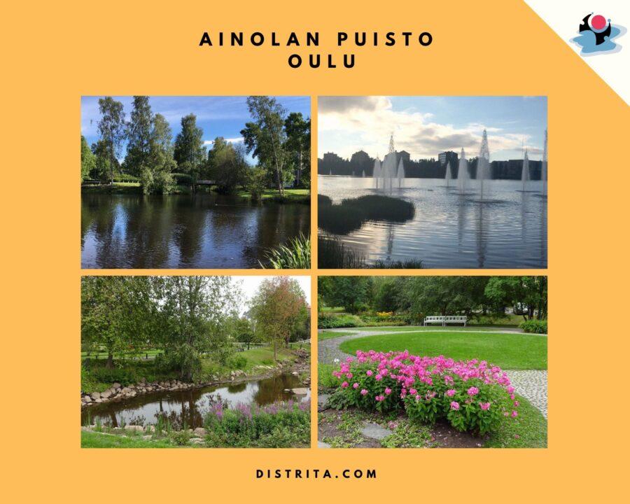 Ainolan Puisto Oulu, beautiful parks in Oulu