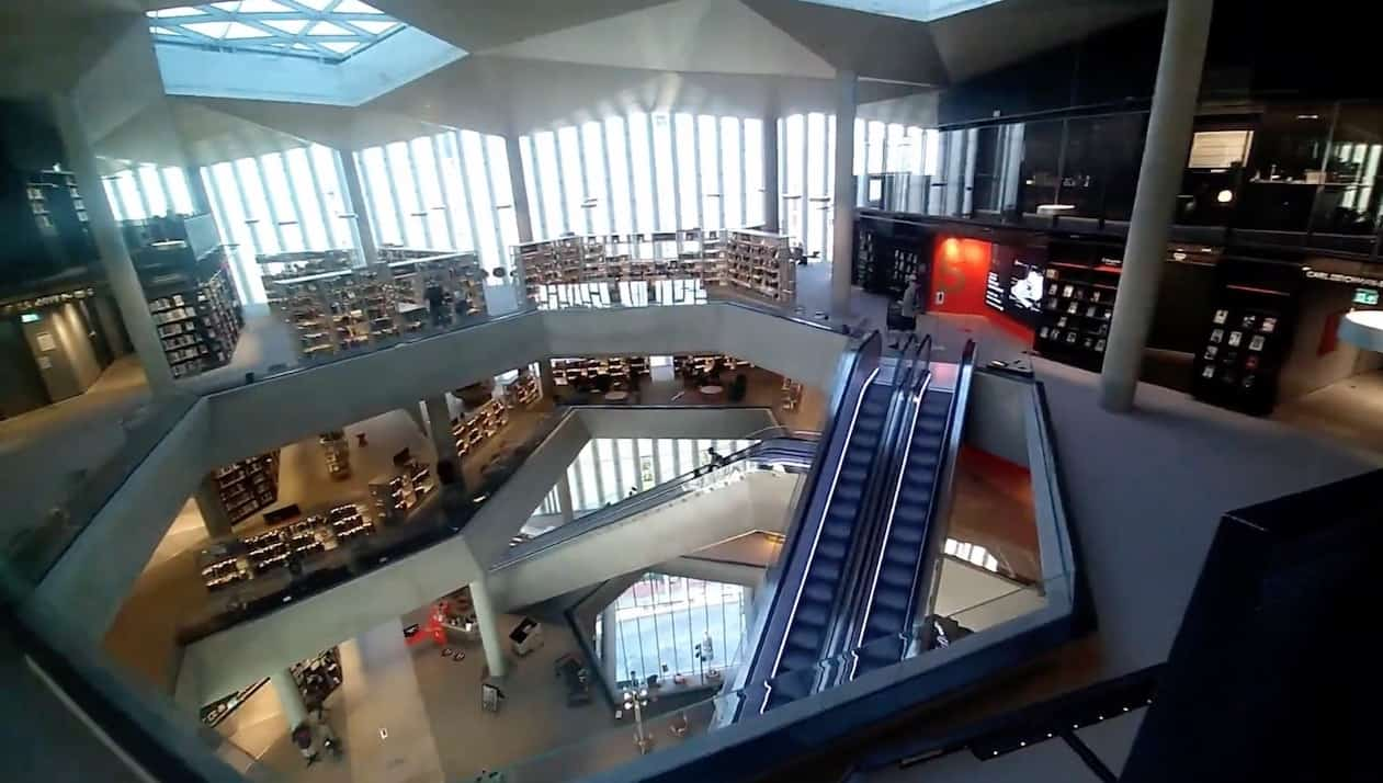 Remarkable New Amazing Library in Oslo