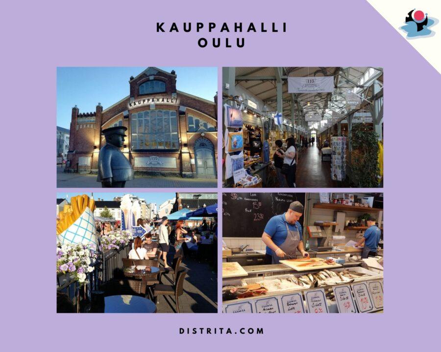 Kauppahalli Oulu, market hall