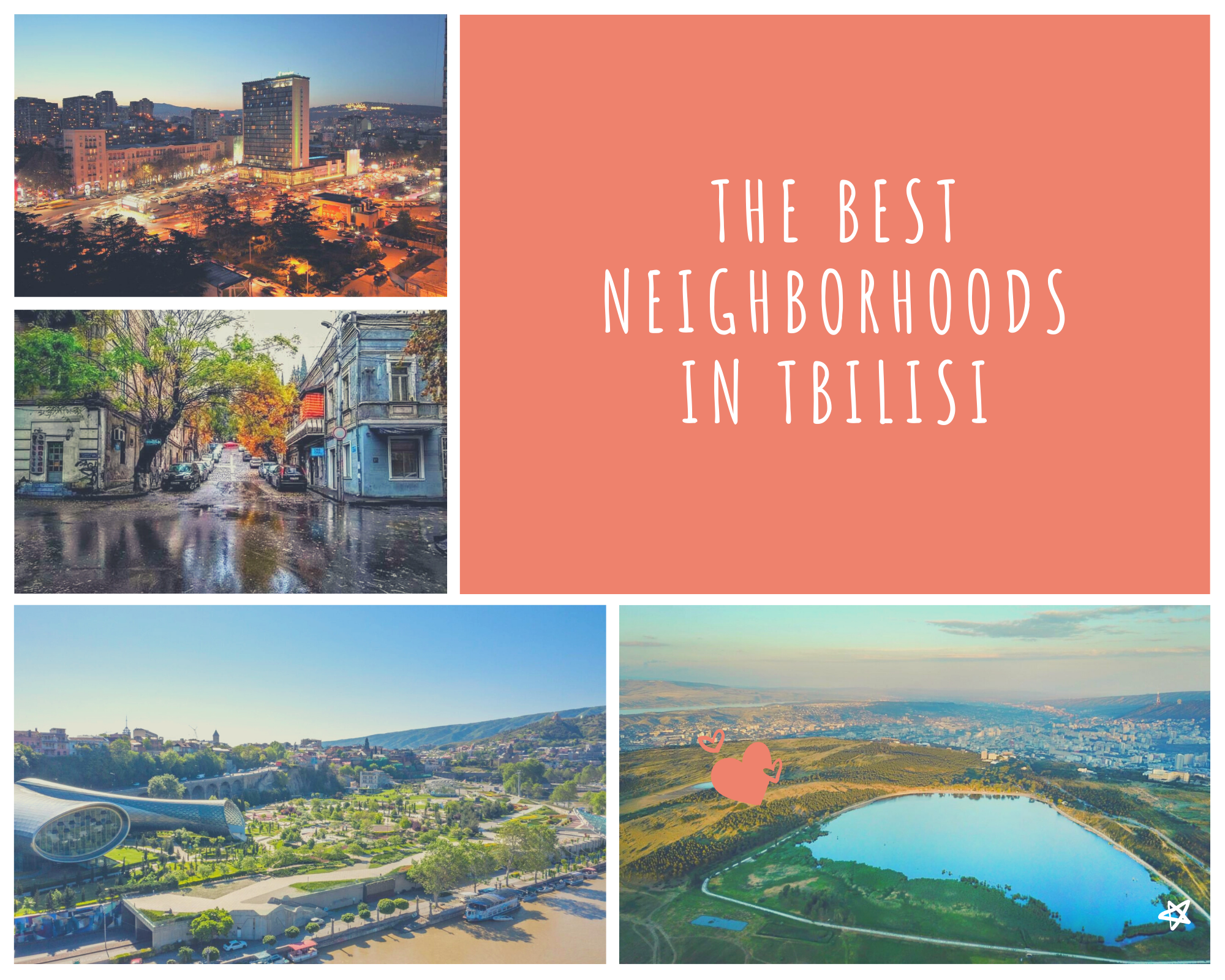 The 5 BEST Neighborhoods in Tbilisi