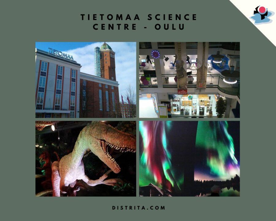 Tietomaa Science Centre  Oulu