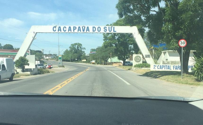 Caçapava do Sul road