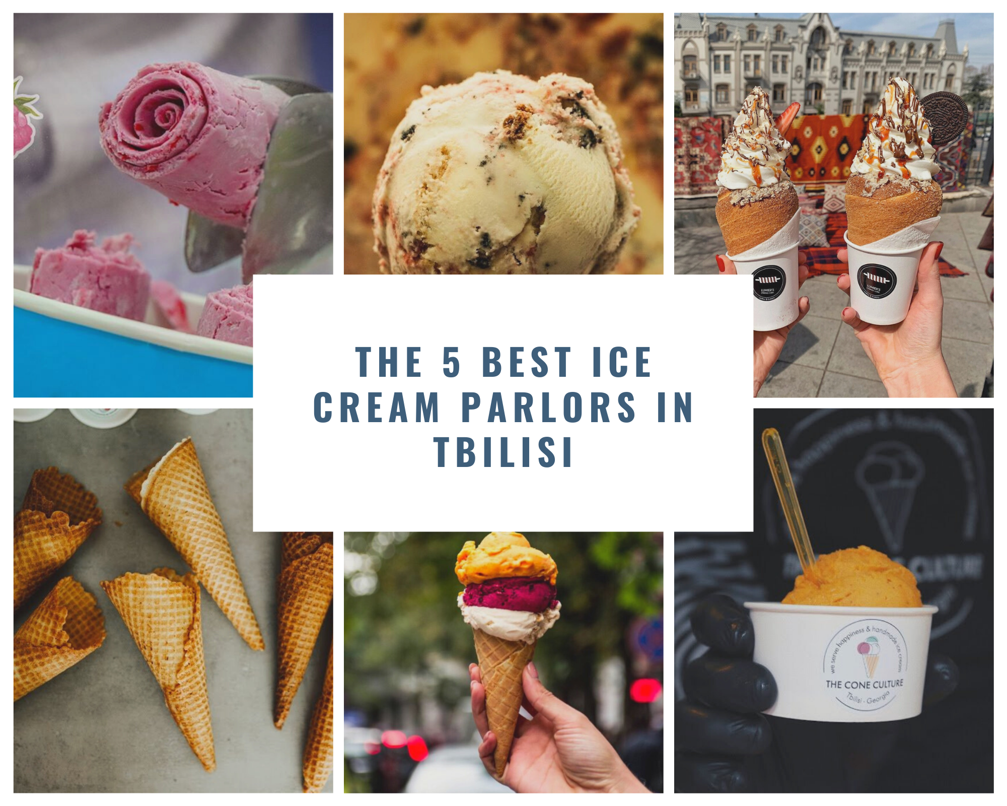 The 5 Best Ice Cream Parlors In Tbilisi