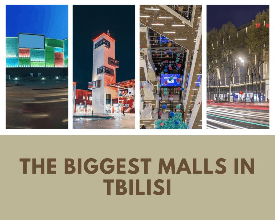 the biggest malls in tbilisi