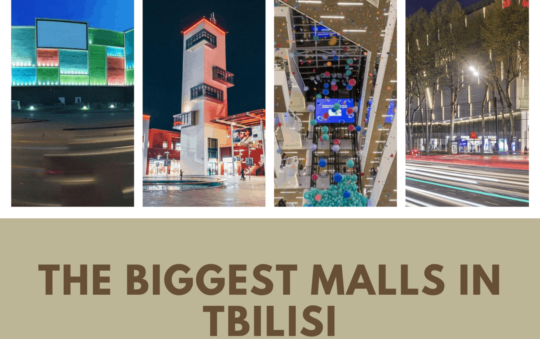 The BIGGEST Malls in Tbilisi | 4 Places To Visit For Exciting Shopping