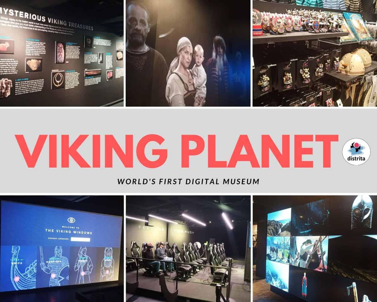 Visit The Viking Planet – world's first digital viking museum