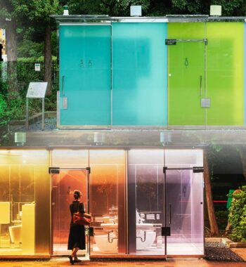 New Transparent Toilets in Tokyo