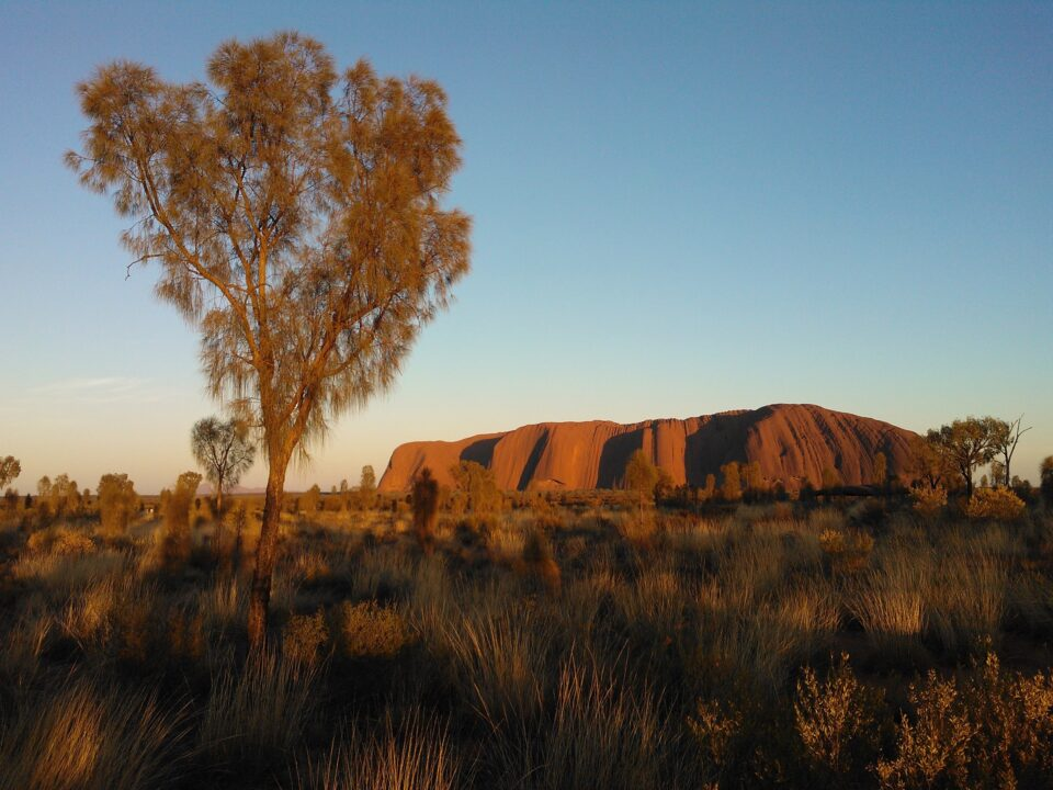 Discover the different colors of Ayers Rock Australia 1