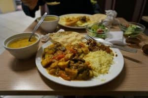 Krishnas Cuisine vegetarian restaurant