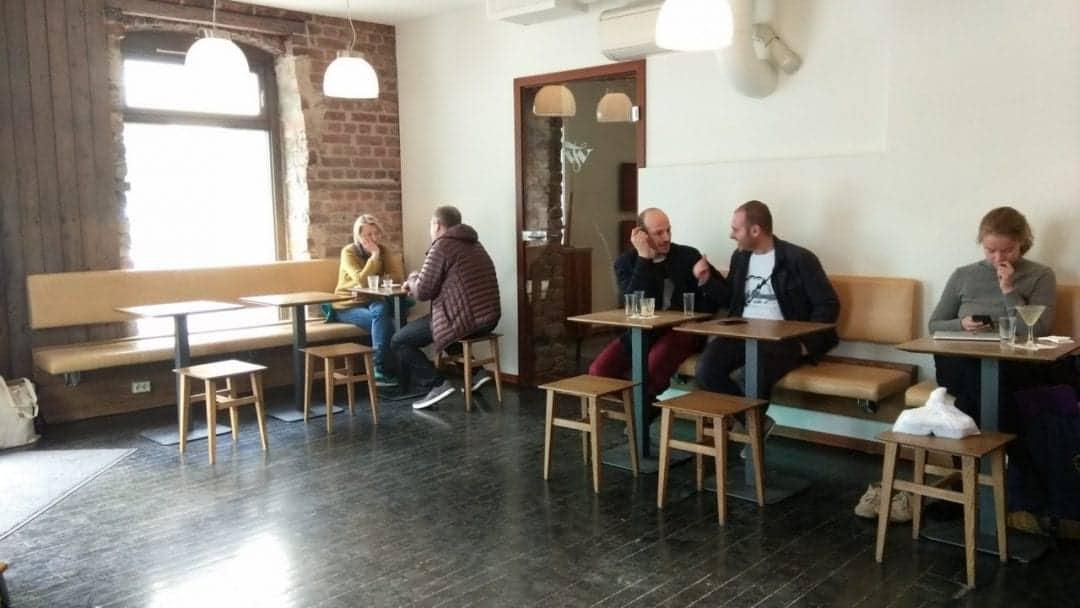 Try the best coffee in Oslo - Tim Wendelboe Review 6