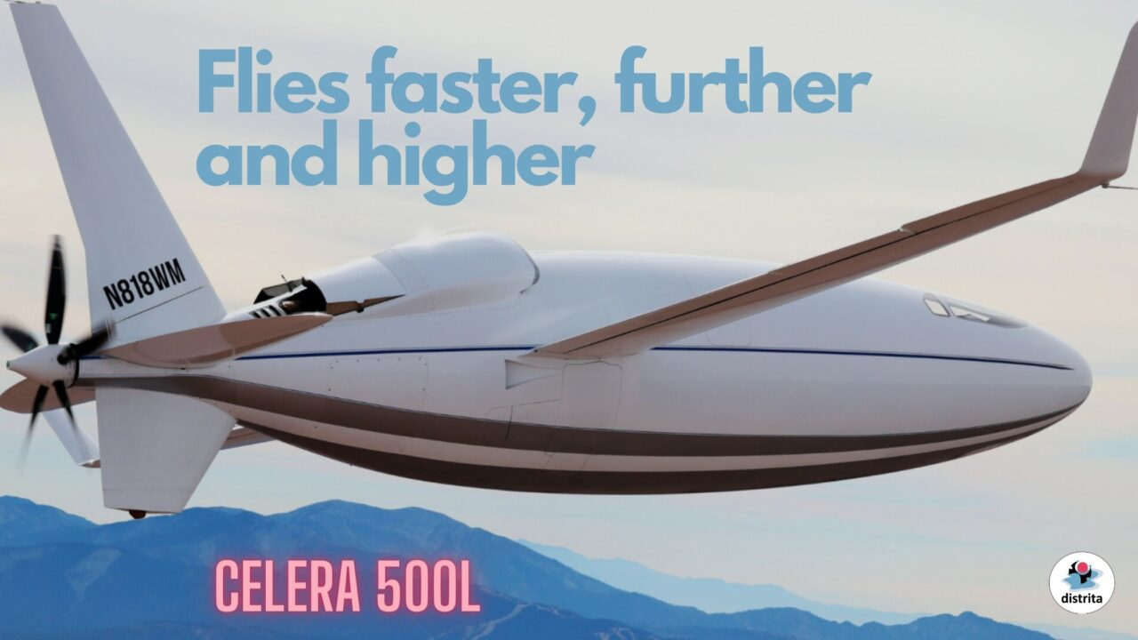 Celera 500L aircraft   Six-person private craft promises to fly at jet speed 1