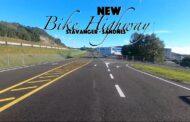 New Bike road with bike-only crossings in Norway