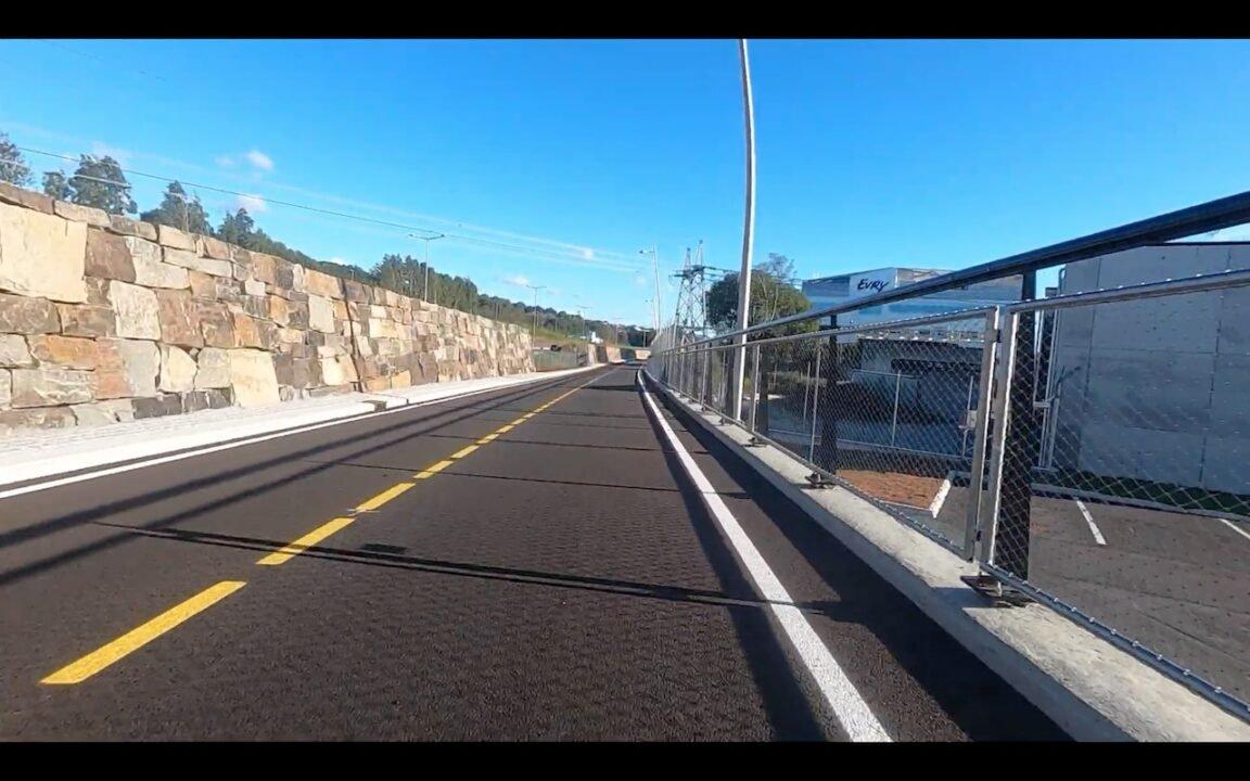 New Bike road with bike-only crossings in Norway 2